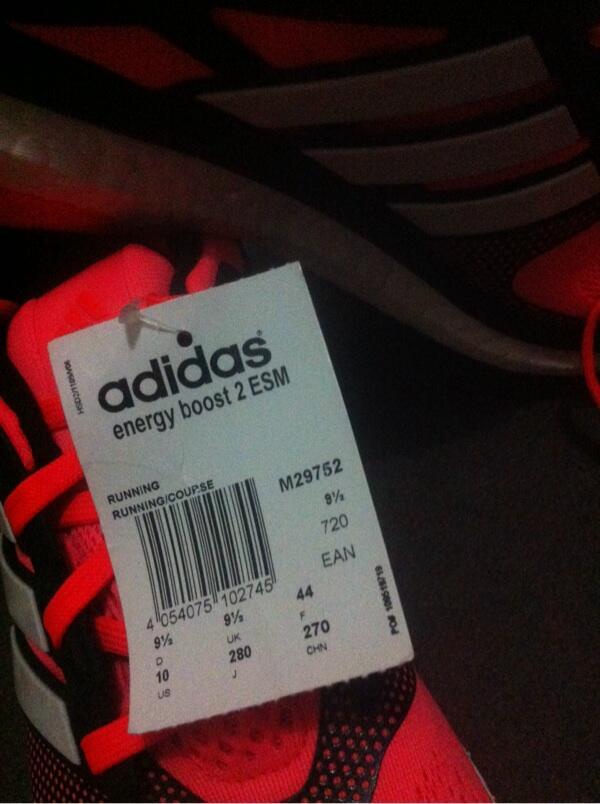 Adidas Energy Boost bukan ZX