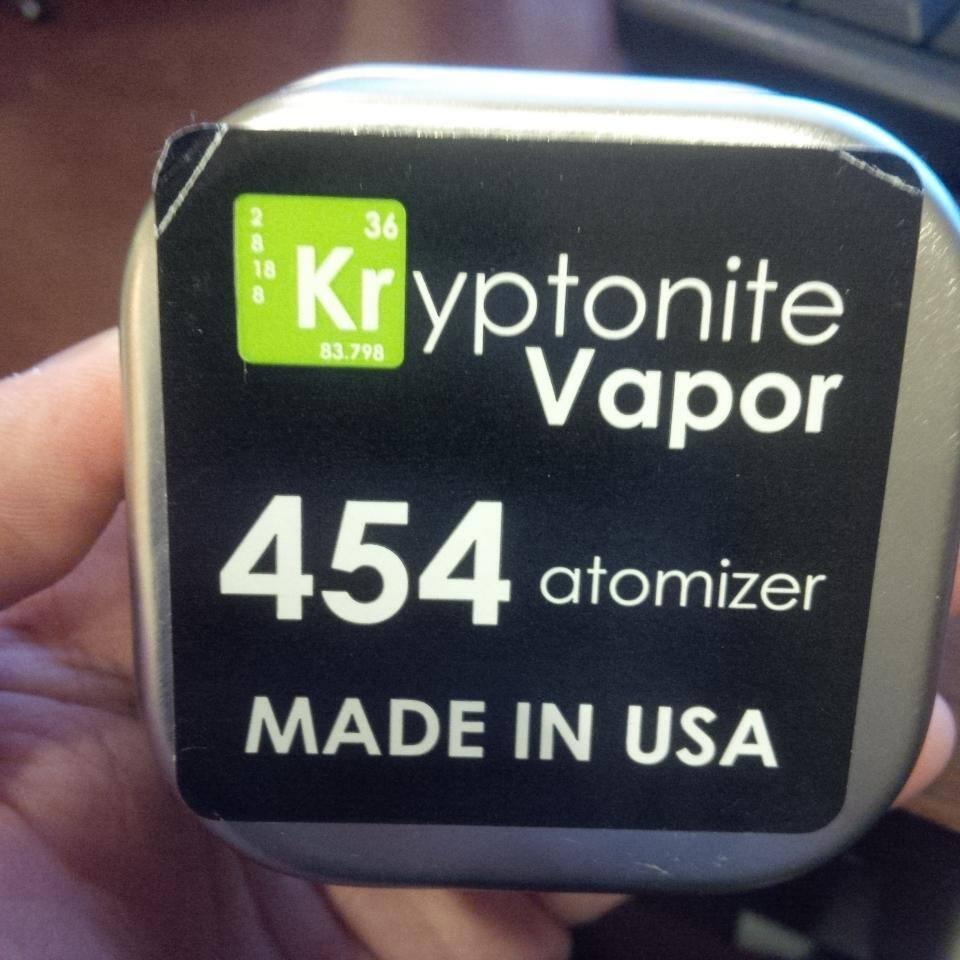 WTS: 454 Big Block Authentic RDA by Kryptonite Vapor USA 2nd
