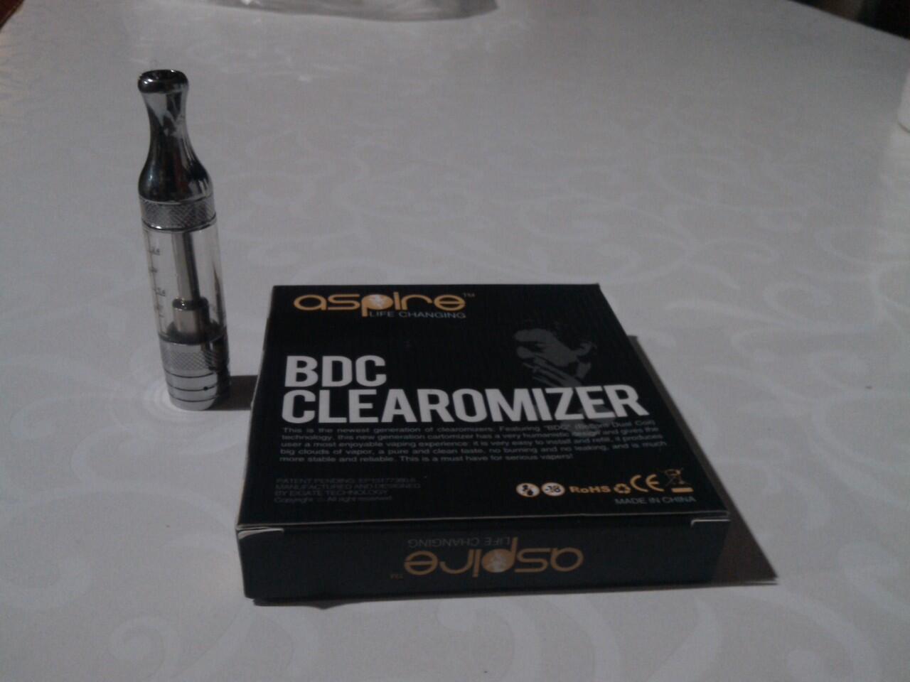 Clearomizer Tank ASPIRE BDC DUAL COIL / VAPORIZER / VAPING / VAPO / PV /