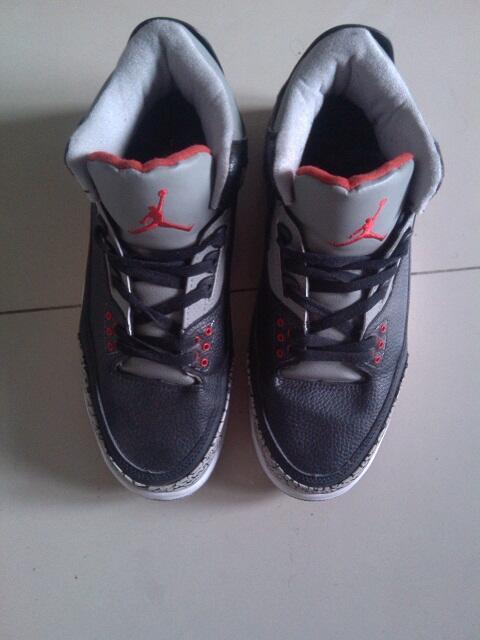 Air Jordan 3 Black Cement KW size 11 aka 45 replika