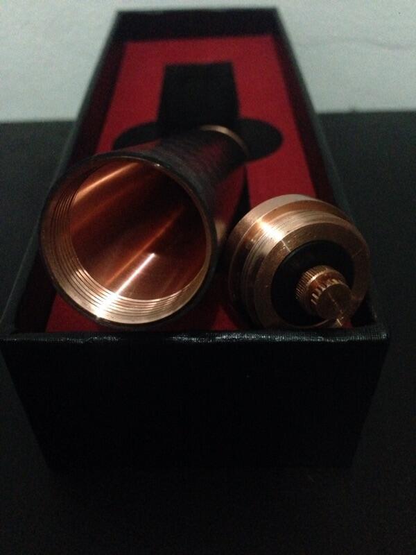 Paragon Carbon / Cooper / Mod / Vaporizer / Clone / BNIB / Bandung