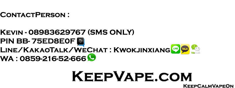 [WTS] Dragon Vaping Mod Vape Mods MAGNET KeepVape.com BARU FREE ONGKIR**