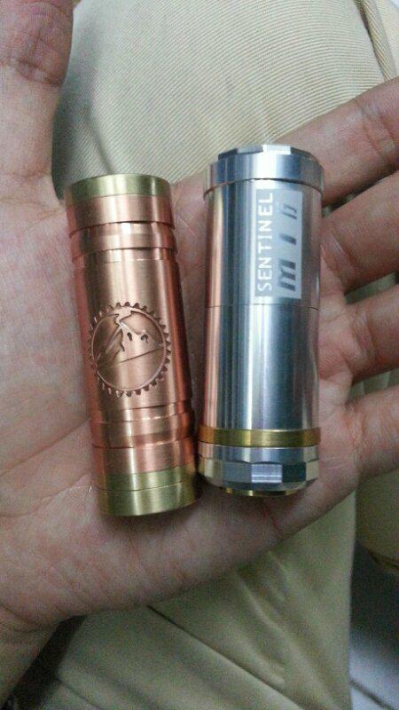 vaporfamiglia | vanila 18350 copper mods | sentinel m16 telescopic | bnib | vaporizer