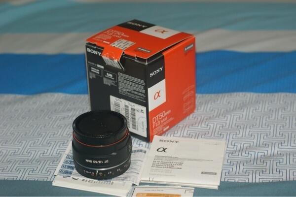WTS lensa fix Sony 50mm F1.8 SAL50F18
