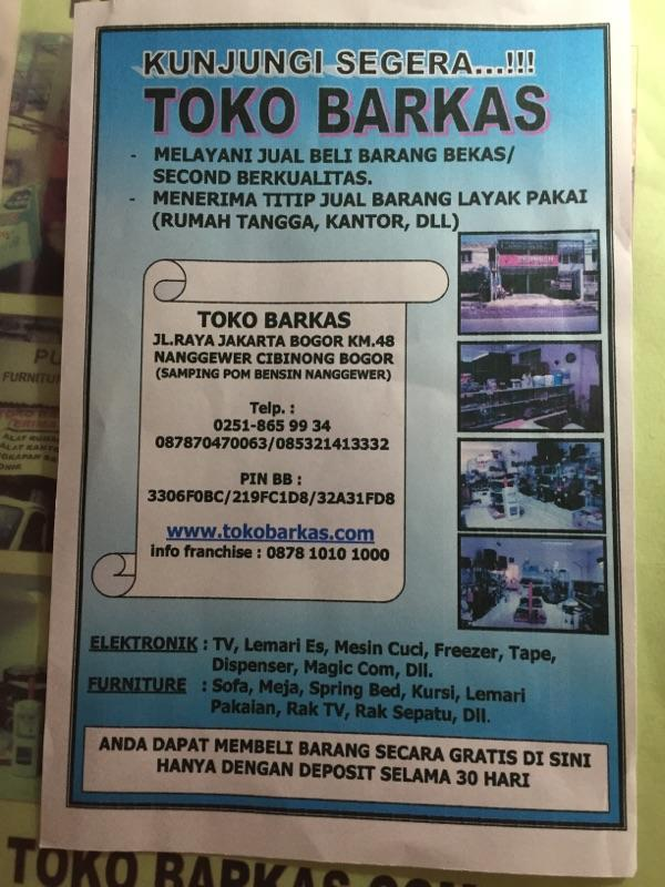 DETAIL PENIPUAN TOKOBARKAS.COM a/n SAIFUL BAHRI, DKK