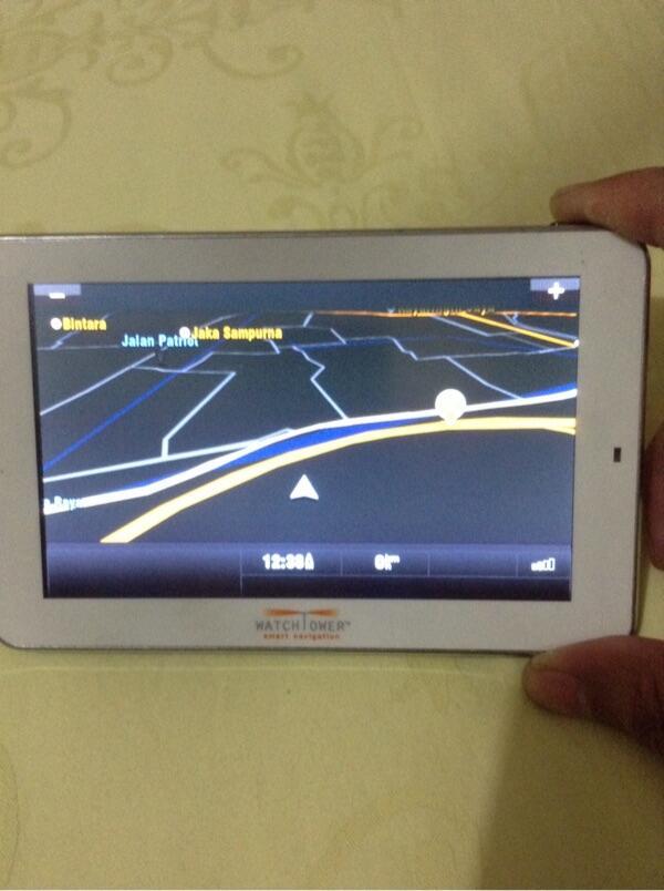 GPS Watchtower dengan Traffic Management TMC