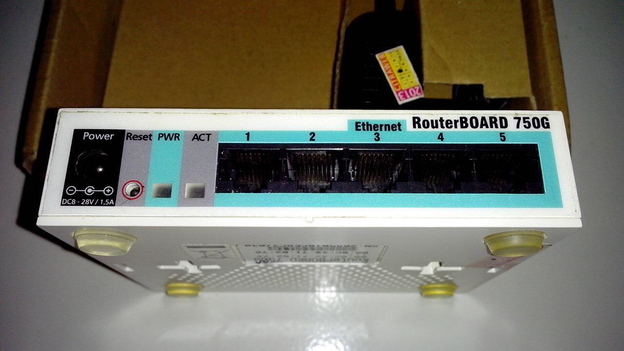 Mikrotik RB750G - Bandung