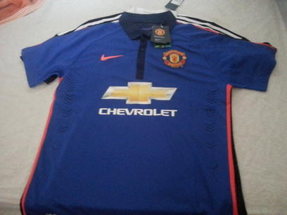 JERSEY MADRID & Manchester UNITED AWAY THIRD 2014/2015 GRADE ORI / PLAYER ISSUE
