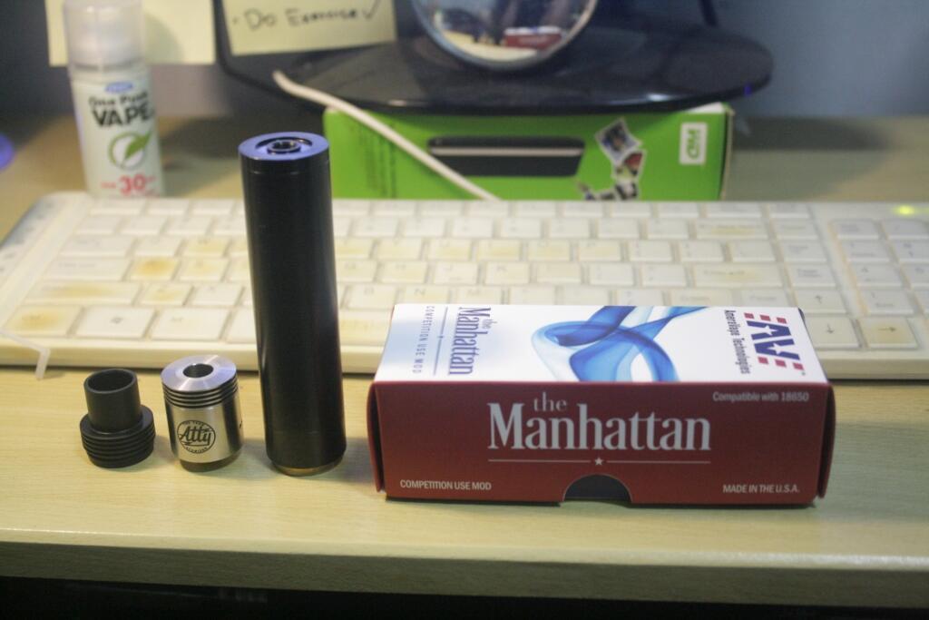 ★HOUSE OF CLOUDS★ | Vape Store BDG | Manhattan+tobh atty+chuffenuff, cloudchaserss..