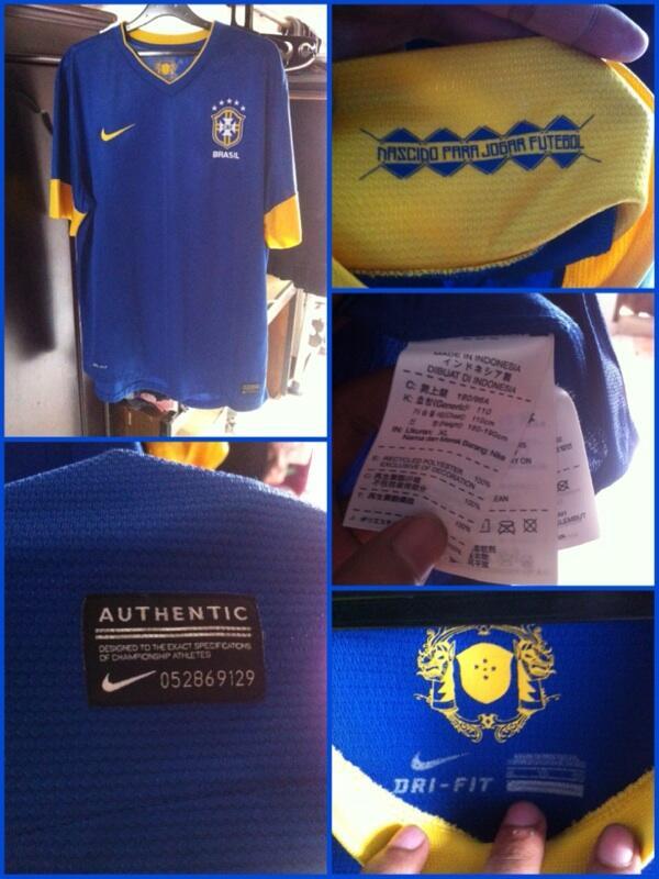 WTS Brazil Away 2012 XL. Cekidot!