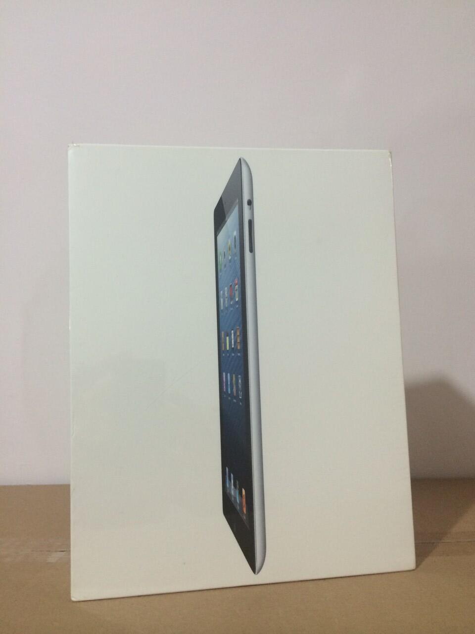 Dijual Ipad 4 BARU - 16GB Wi-Fi + Cellular