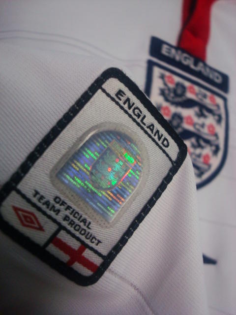JERSEY ENGLAND 2003-2005 LS HOME (longsleeve) ORIGINAL USED CONDITION