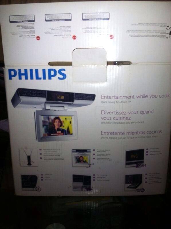 Philips tv portable dapur