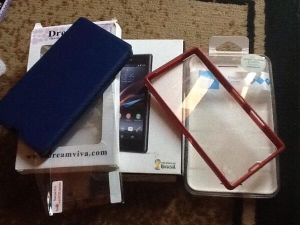 SONY Xperia Z1 white LTE ,lengkap garansi