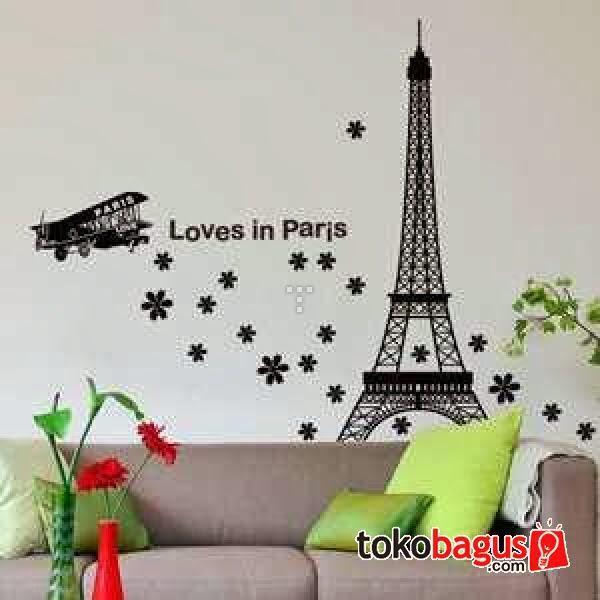 terjual jual wall sticker ( stiker dinding ) untuk di kamar anda