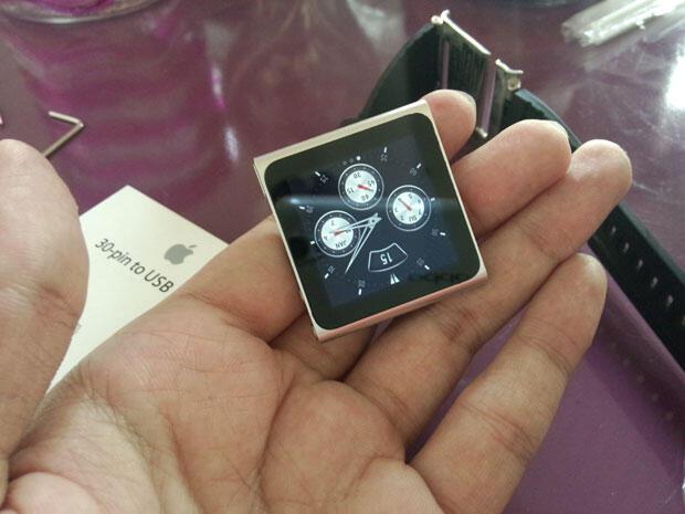 (Beli 1 dapat 3) iPod nano 6 silver 16 GB murah dan dapat bonus 2 Lunatik