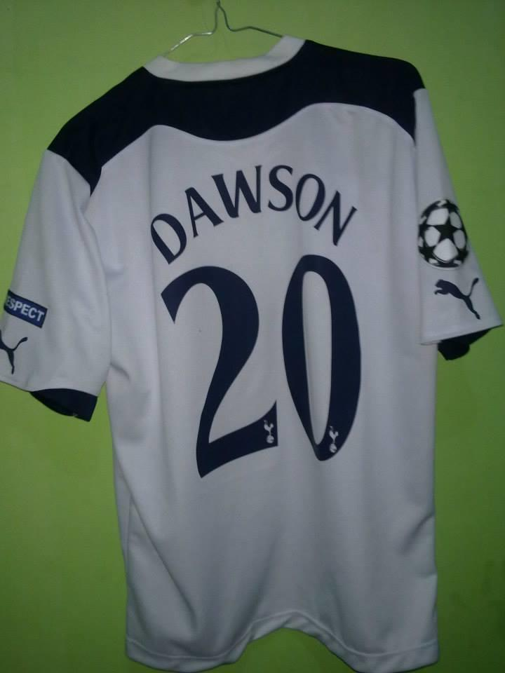 Jersey Tottenham Home 10/11 champion league & away 11/12