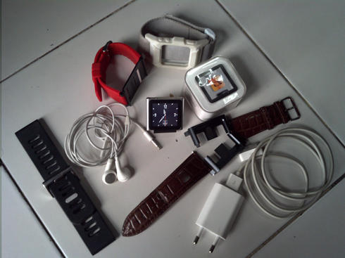 WTS IPOD NANO 6th GEN SILVER 8 GB MULUSSS AJIB!!!
