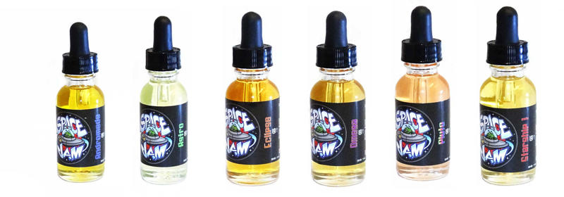 Premium USA E-Liquid : Suicide Bunny, Space Jam, Cosmic Fog, Wyze, Taste