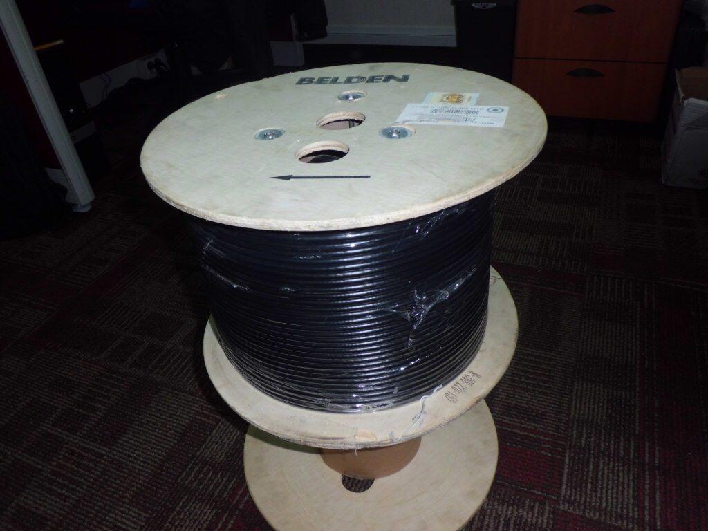 Kabel Coaxial BELDEN RG6 9116s ORIGINAL untuk Antena TV atau CCTV, Jual Meteran