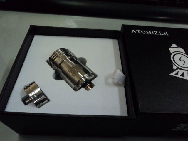 rokok elektrik / vaporizer rba aqua dan 3D