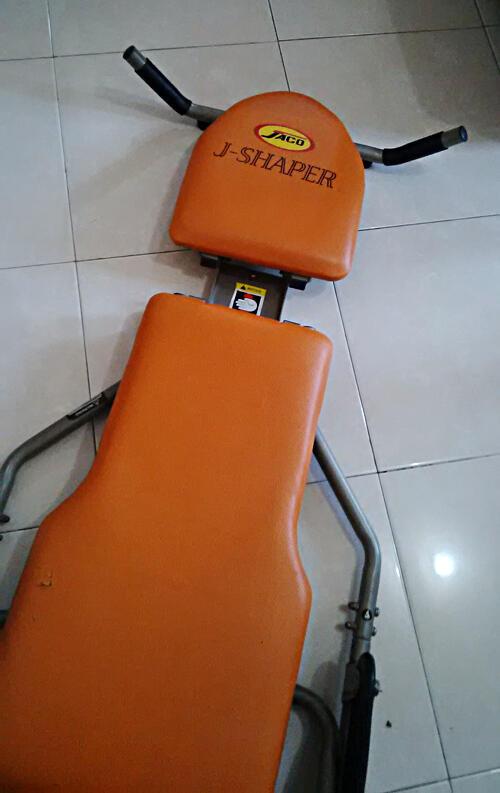 Alat fitnes J-Shaper (ASLI)