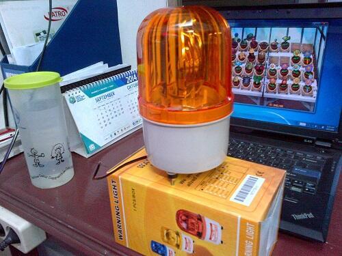 jual lamp ROTARY 12 volt 24 volt 220 volt