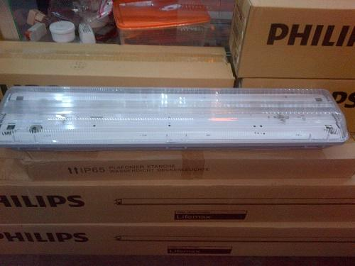 jual kap TL-D waterproof 2x 36 watt 2x18 watt dan berbagai macam ukuran ip 65