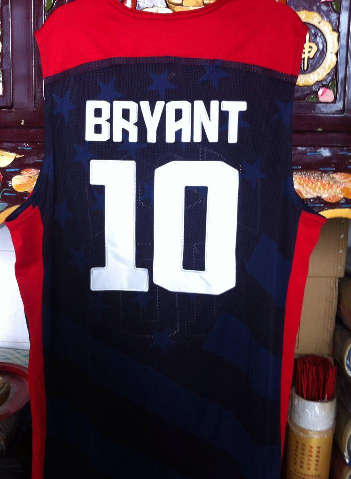 best service e5951 fa303 Terjual Jersey Basket Nba Olympics USA 2012 Authentic Kobe Bryant