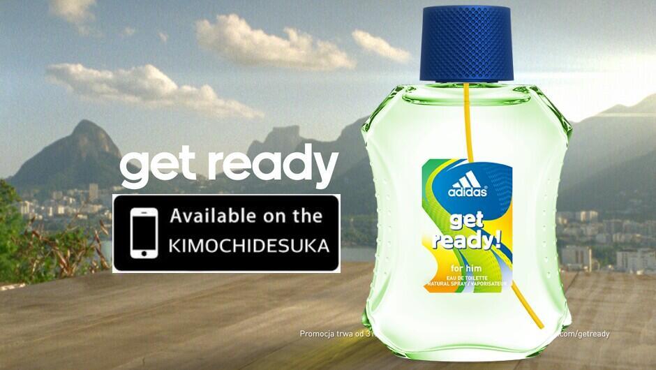 Terjual Kimochidesuka Jual Parfum Adidas Get Ready Original Murah