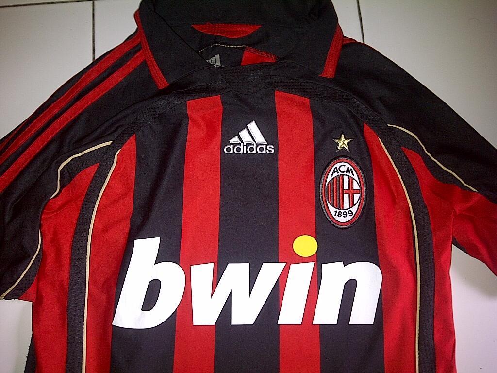 WTS JERSEY AC MILAN 2006/2007 ORGINAL FORMOTION