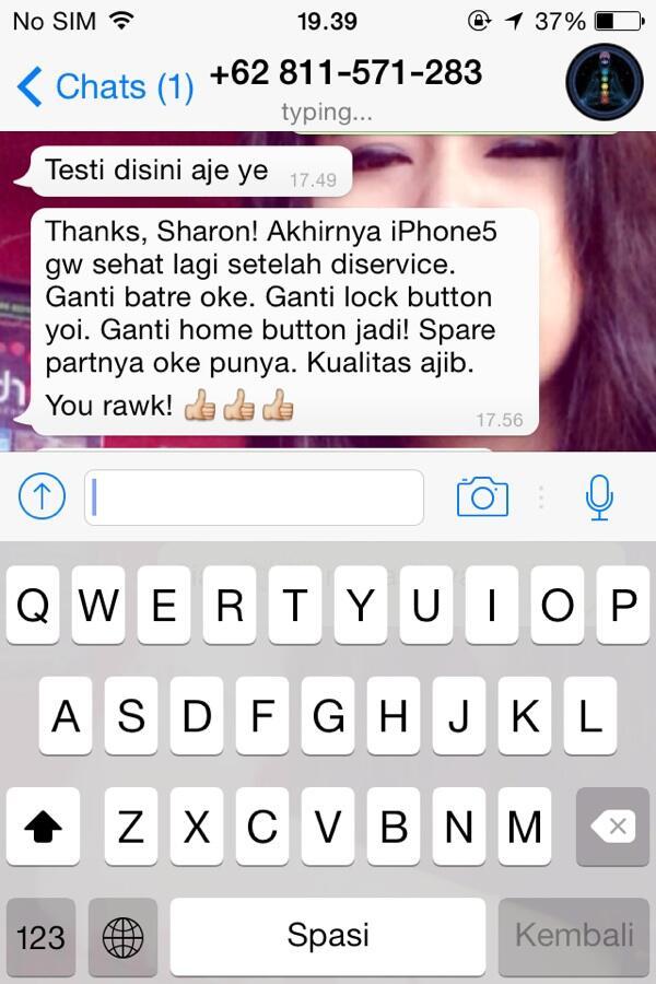 Service Iphone 4G 4S 5G 5S Bermasalah atau Rusak (GARANSI) Tangerang Bintaro Jakarta