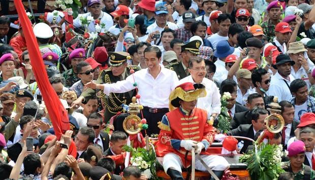 Seperti Apa Mahkluk GAIB yang Mendampingi Jokowi-JK ?
