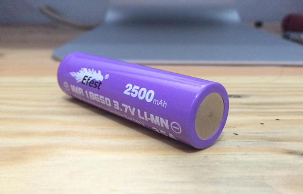 Battery   Baterai EFEST IMR 18650 3.7V 2500mAh 35A ORIGINAL JOGJA