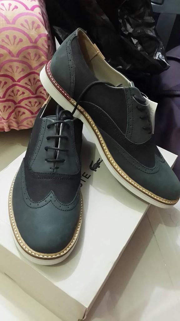 Terjual Sepatu Lacoste Sherbrooke Brogue 32c25c297f