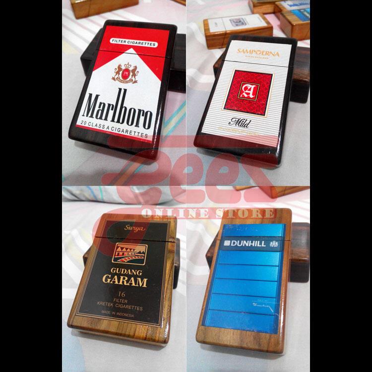 KOTAK Rokok KAYU - UNIK dan Indonesia BANGET!!