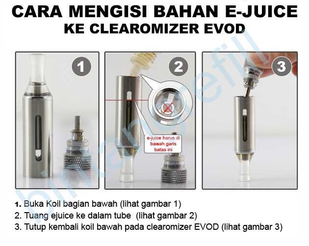 Personal Vaporizer, Rokok Elektrik orginal EVOD