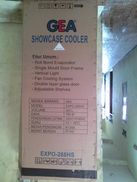 Showcase Gea Expo 268hs
