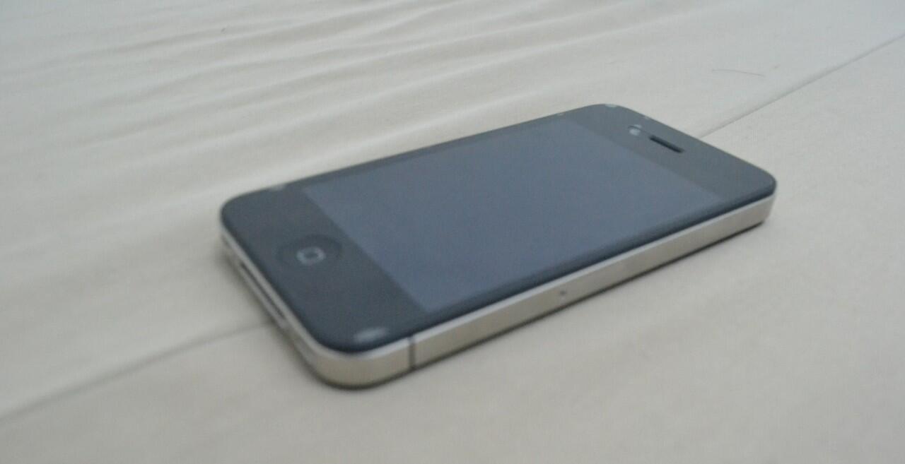 iPhone 4 GSM 8GB FULLSET (Bisa Tuker Tambah/tt sama Nokia Lumia)