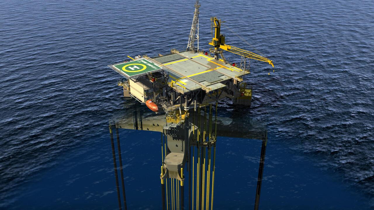 Membangun Offshore Platform (Anjungan Lepas Pantai) Pengeboran Minyak & Gas