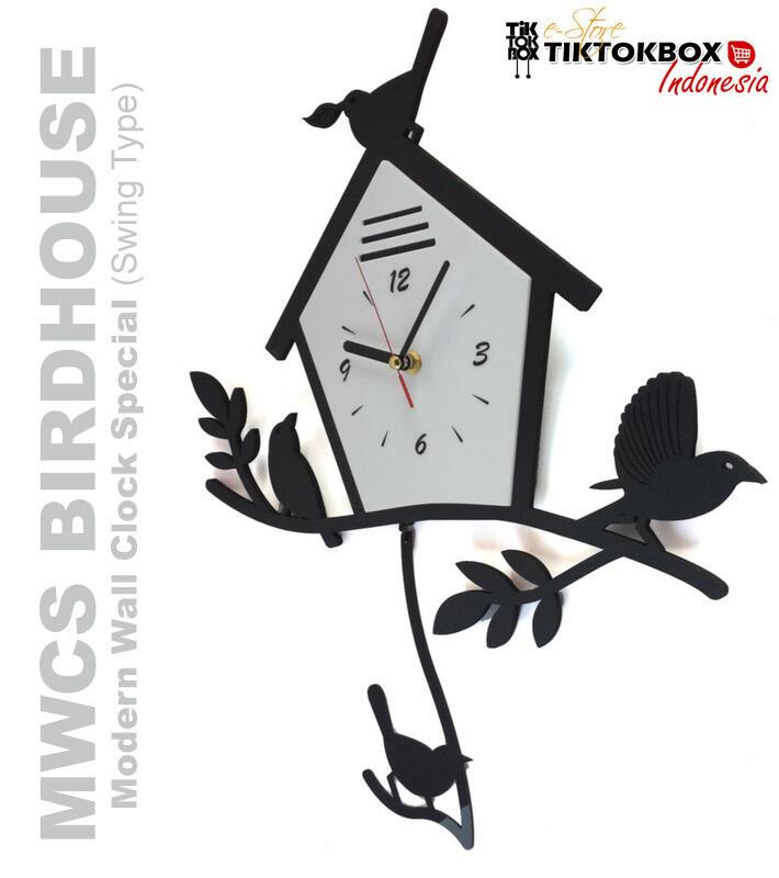 Para Penggemar   Pecinta Burung Wajib Masuk! 3 Jam Dinding Burung! UNIK    SPESIAL 02a58594d0