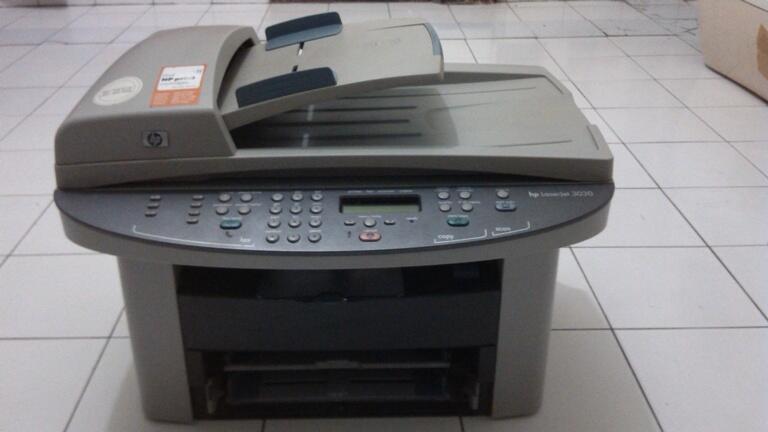 terjual printer laserjet multifungsi hp 3030 scan copy fax ukuran folio legal kaskus. Black Bedroom Furniture Sets. Home Design Ideas