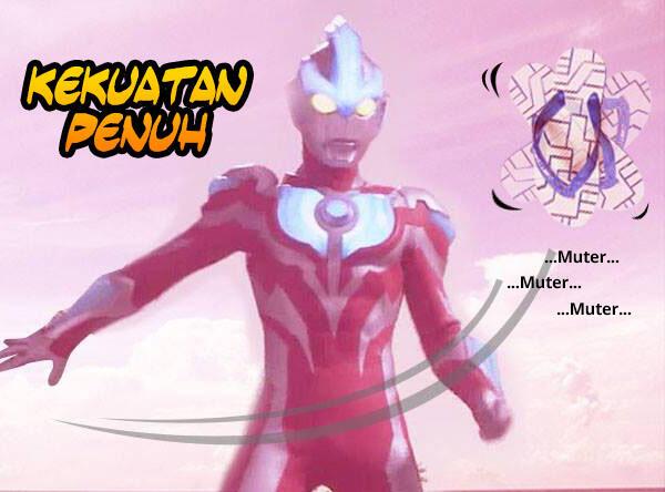 Ultraman Ginga Feat Isendal Komik Sotosop Full Gambar