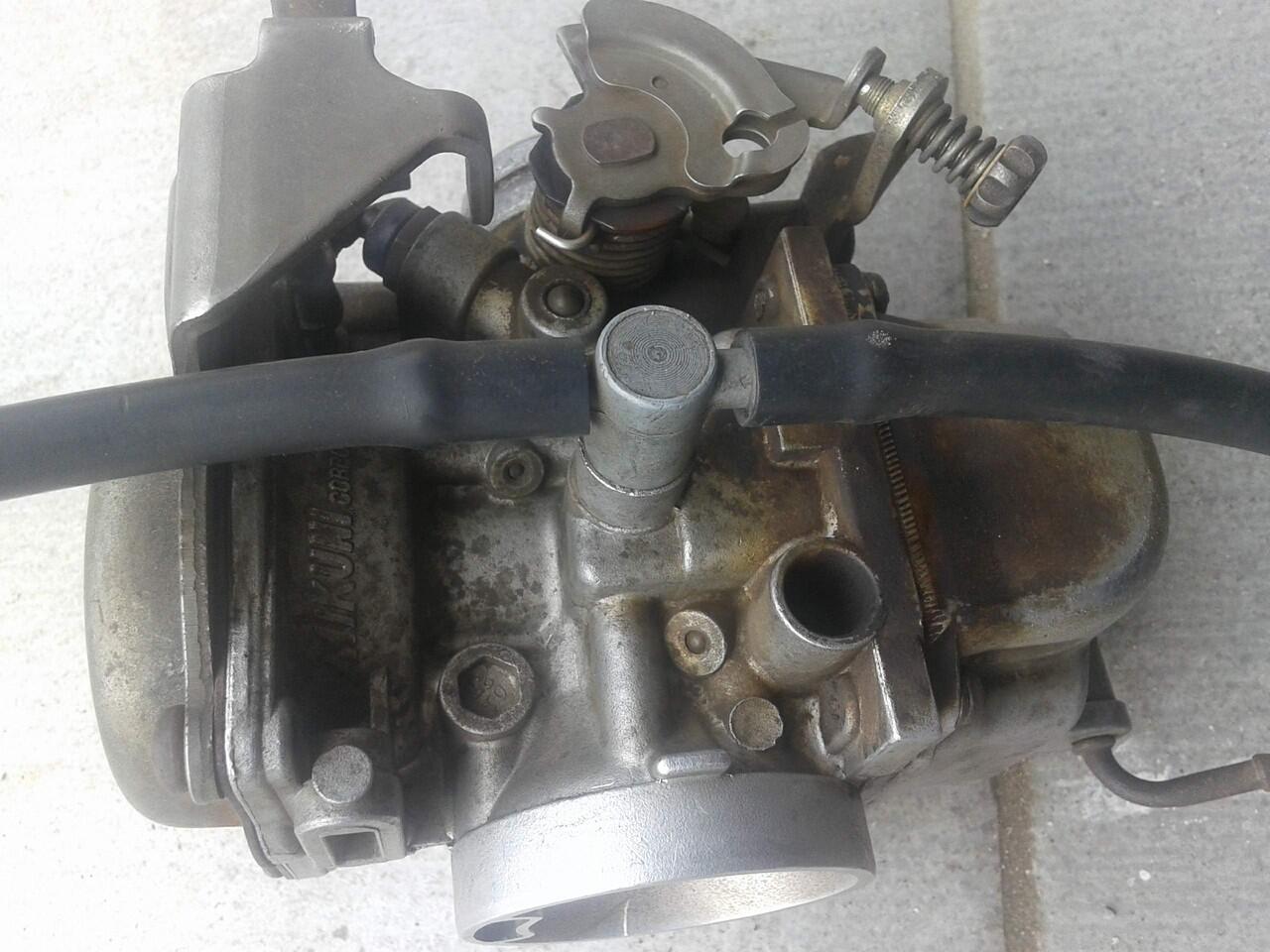 jual karburator motor scorpio Z mikuni second barang mulus orisinil