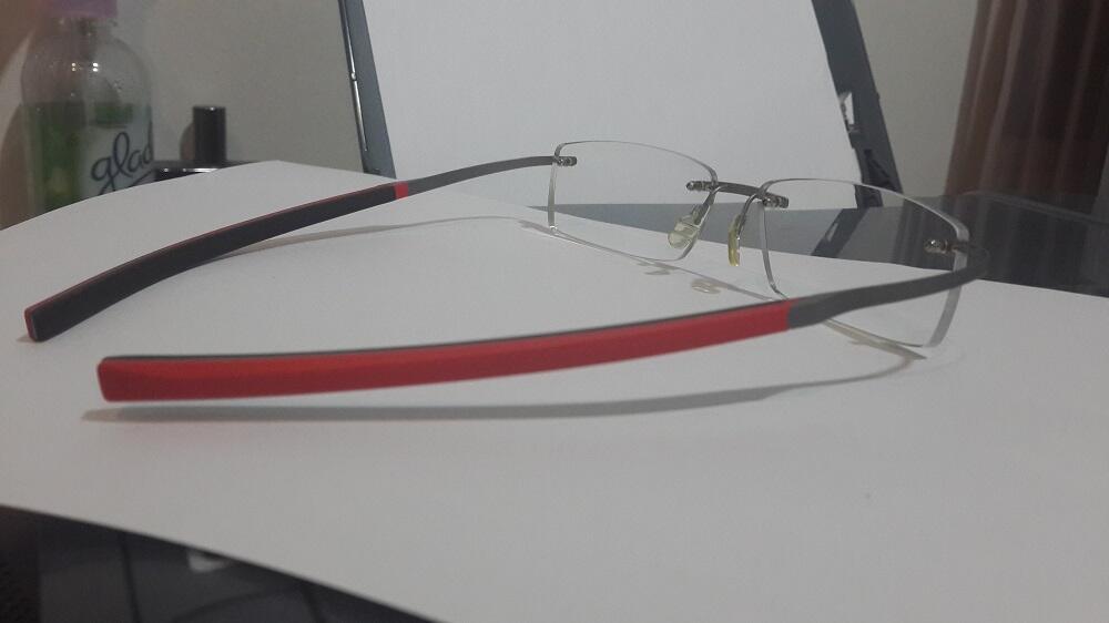 JUAL CEPAT !!! Kacamata Tag Heuer Spring Rubber 0341 Merah Original, MURAH !!!!