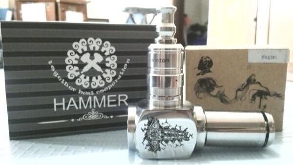 WTS Hammer mod, Tank RDA pardigm magma plus driptip
