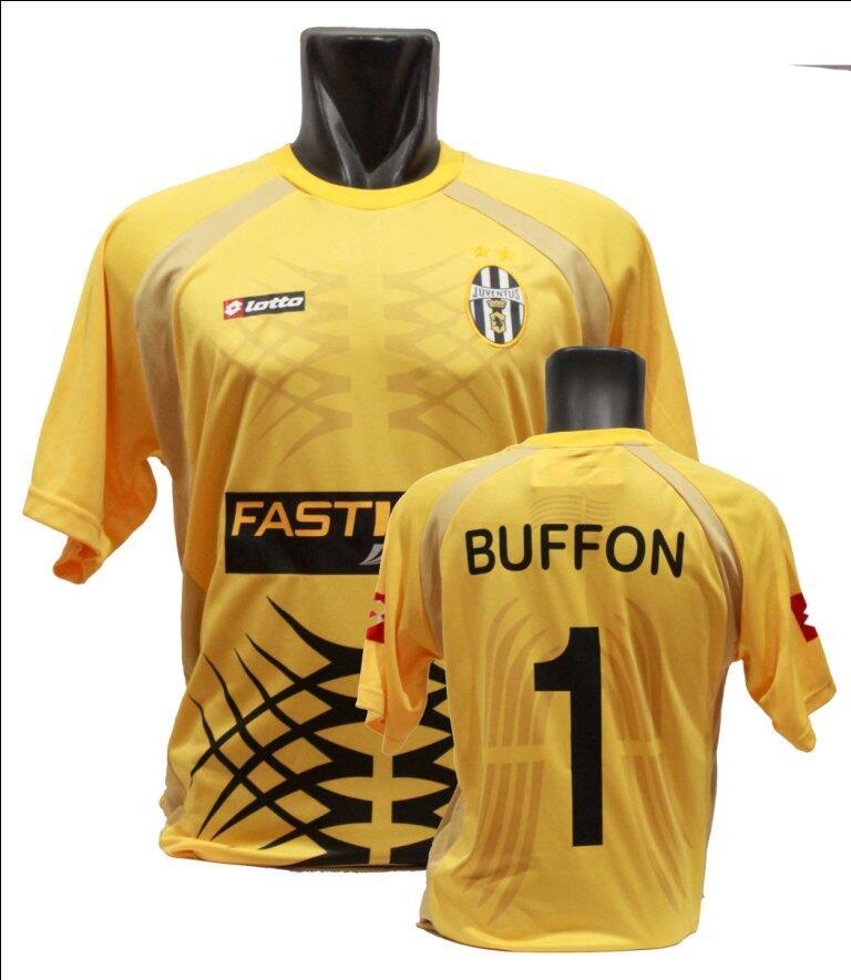 f43330f4a Terjual Jersey Retro Kiper JUVENTUS BUFFON Fastweb 2001 2002 2003 ...