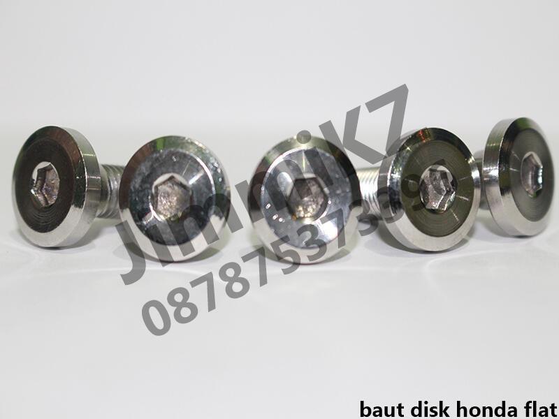 Baut Stainless Steel Bodi, Cakram, Caliper, Bak Magnet & CVT