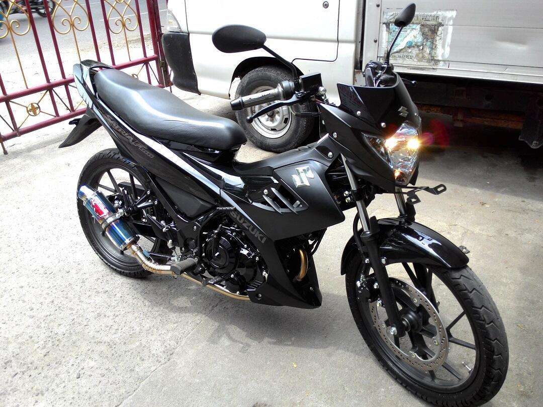 R9 New Mugello NG + DB Killer for Satria FU150 [Semarang]
