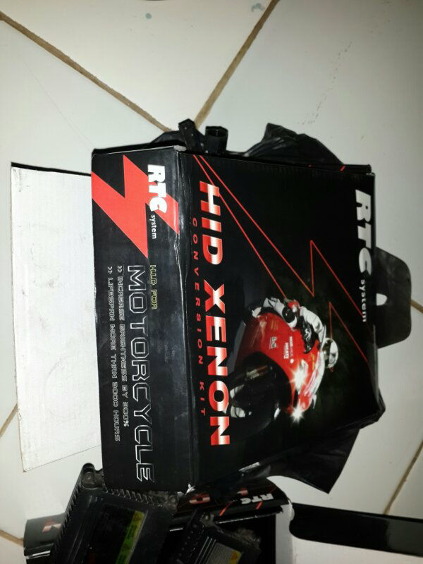 WTS HID RTC SYSTEM 6000K WITH BALLAST Eks Vario125 Bulan Sept 2014